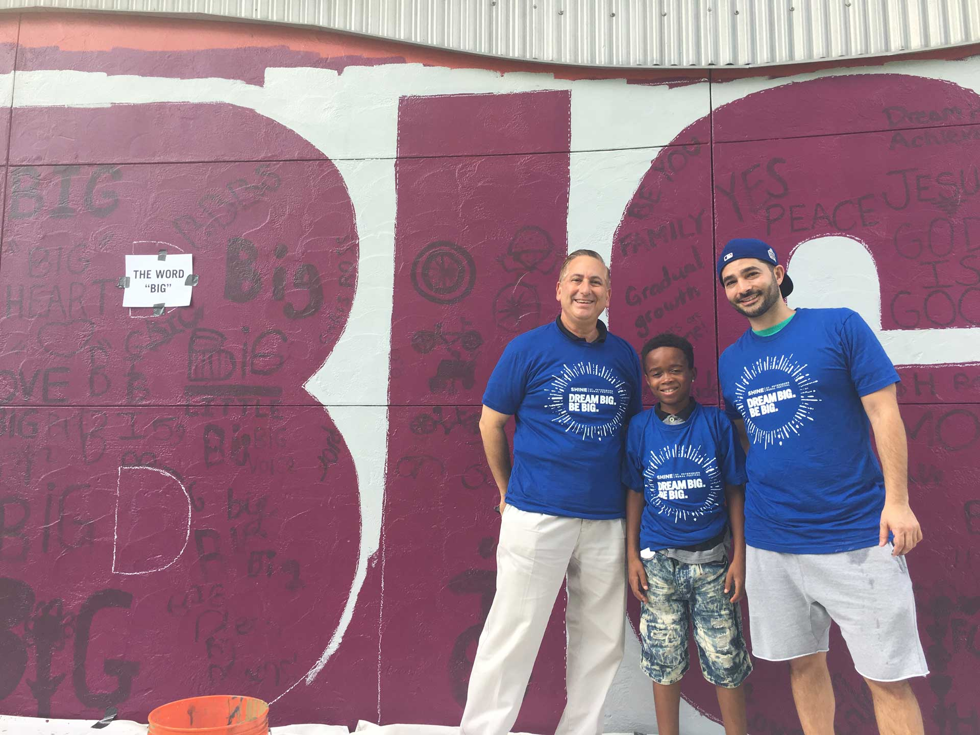 Dream Big, Be Big with our Community Mural