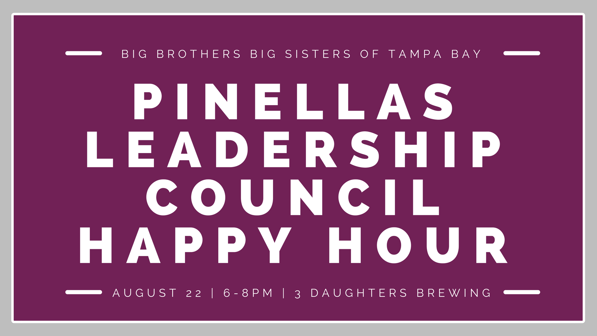 Pinellas LC Happy Hour