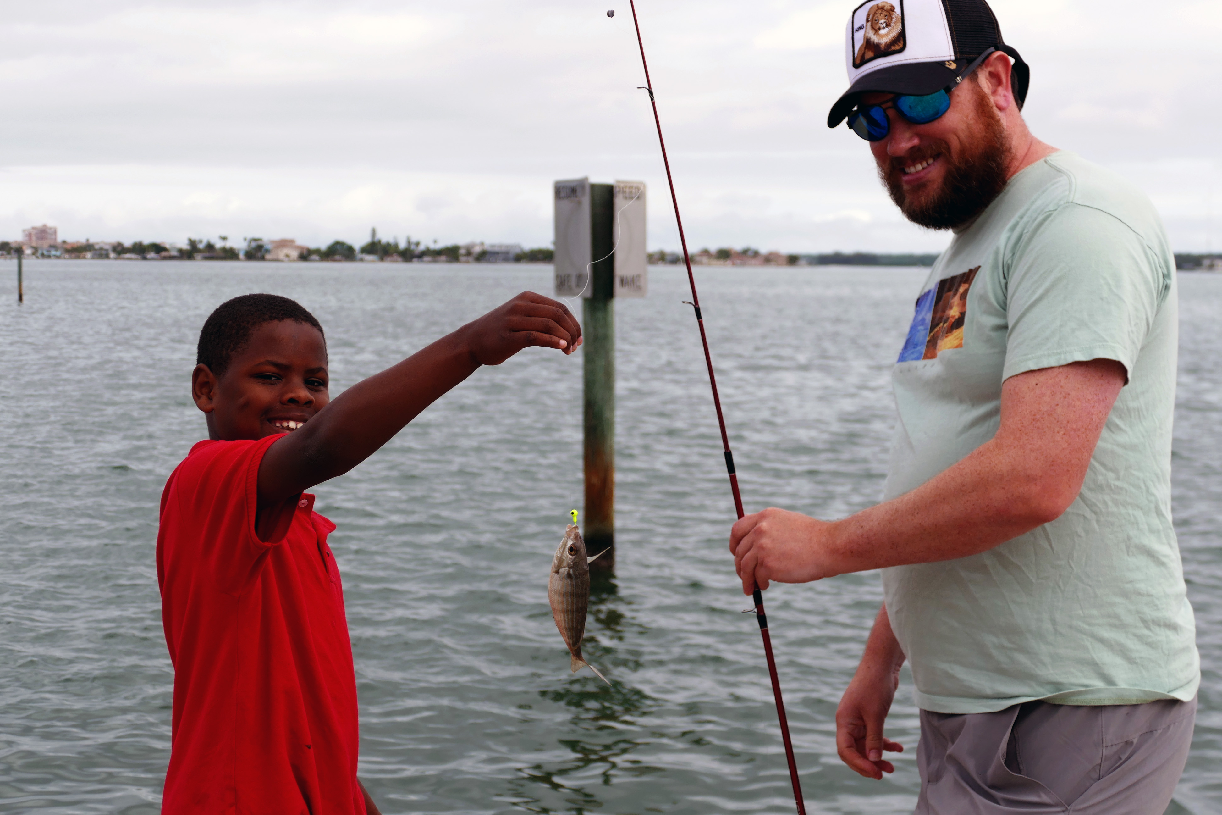 Old Salt Fishing Clinic with BBBS