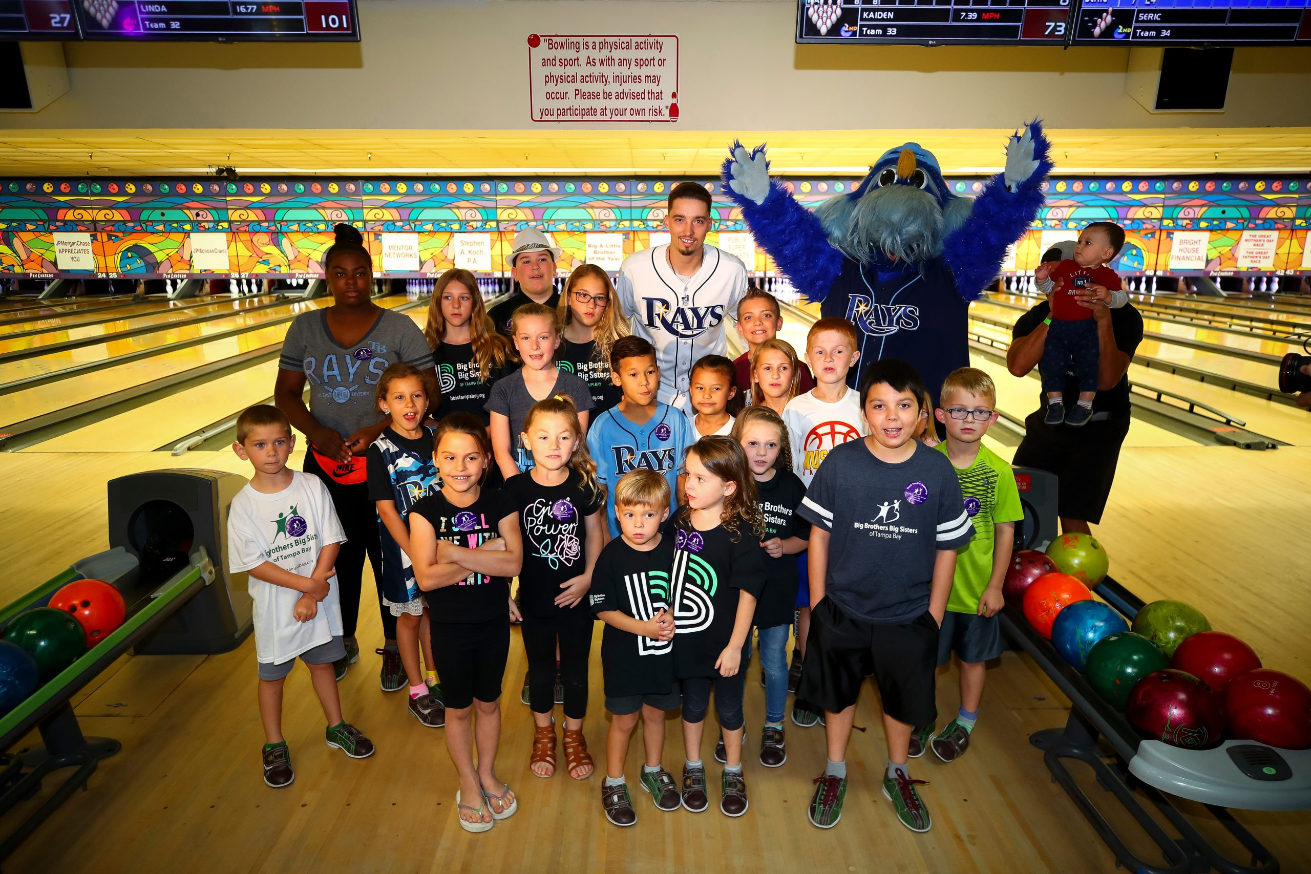 Bowl For Kids' Sake with Rays Pitcher Blake Snell