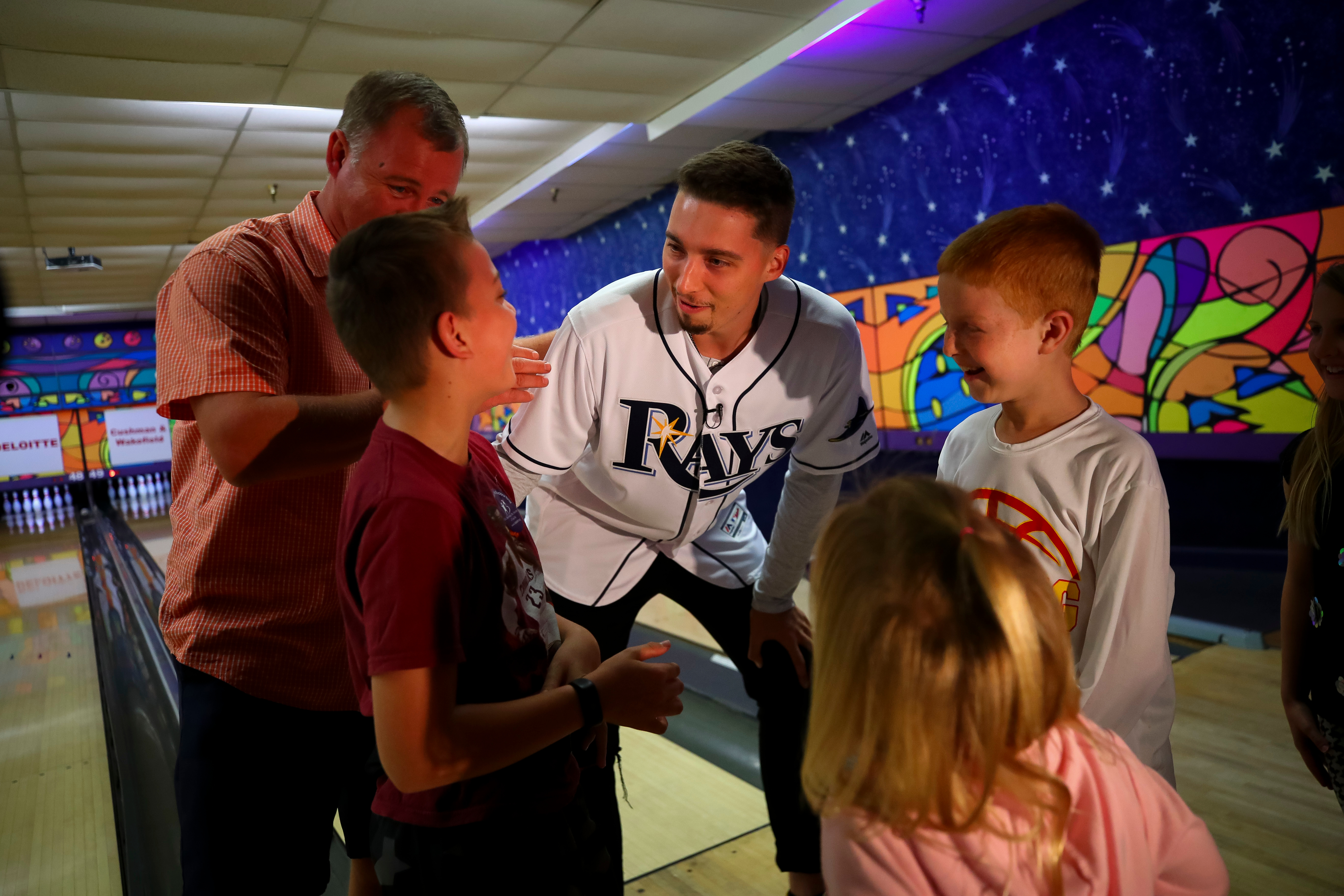 Annual Rays VIP Bowl Thanked Top Bowl For Kids' Sake Fundraisers with a Meet-and-Greet with Rays Cy Young winner Blake Snell