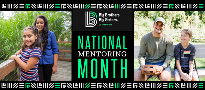Step Up and become a Big this National Mentoring Month